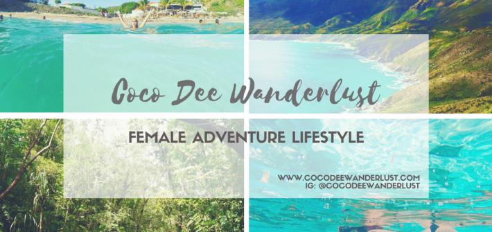 Coco Dee Wanderlust Female Adventure Lifestyle