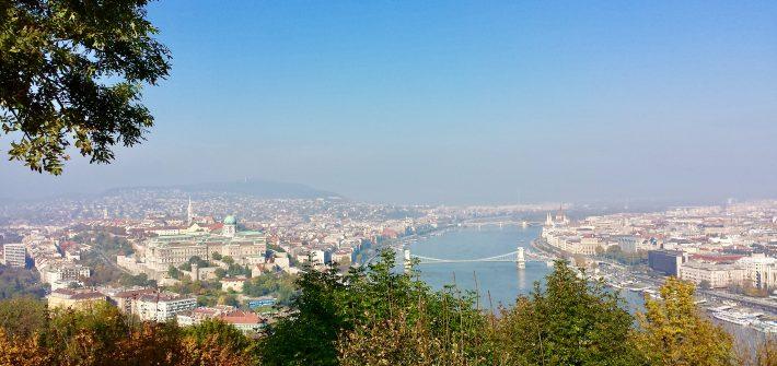 View Budapest Hill Hungary