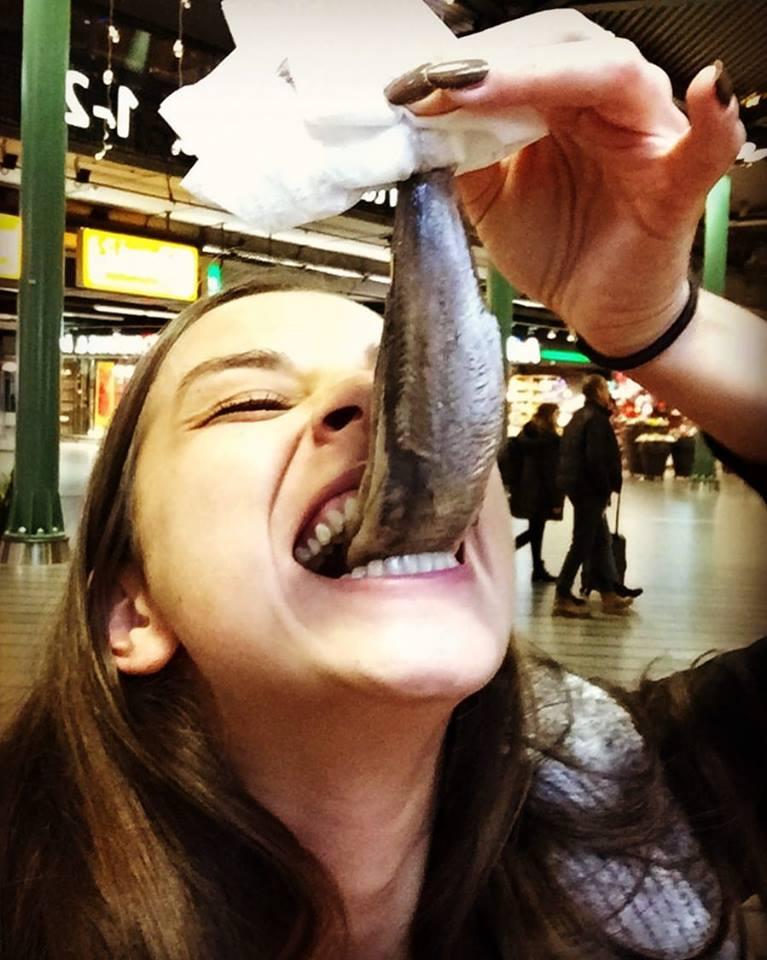 Dutch Food herring