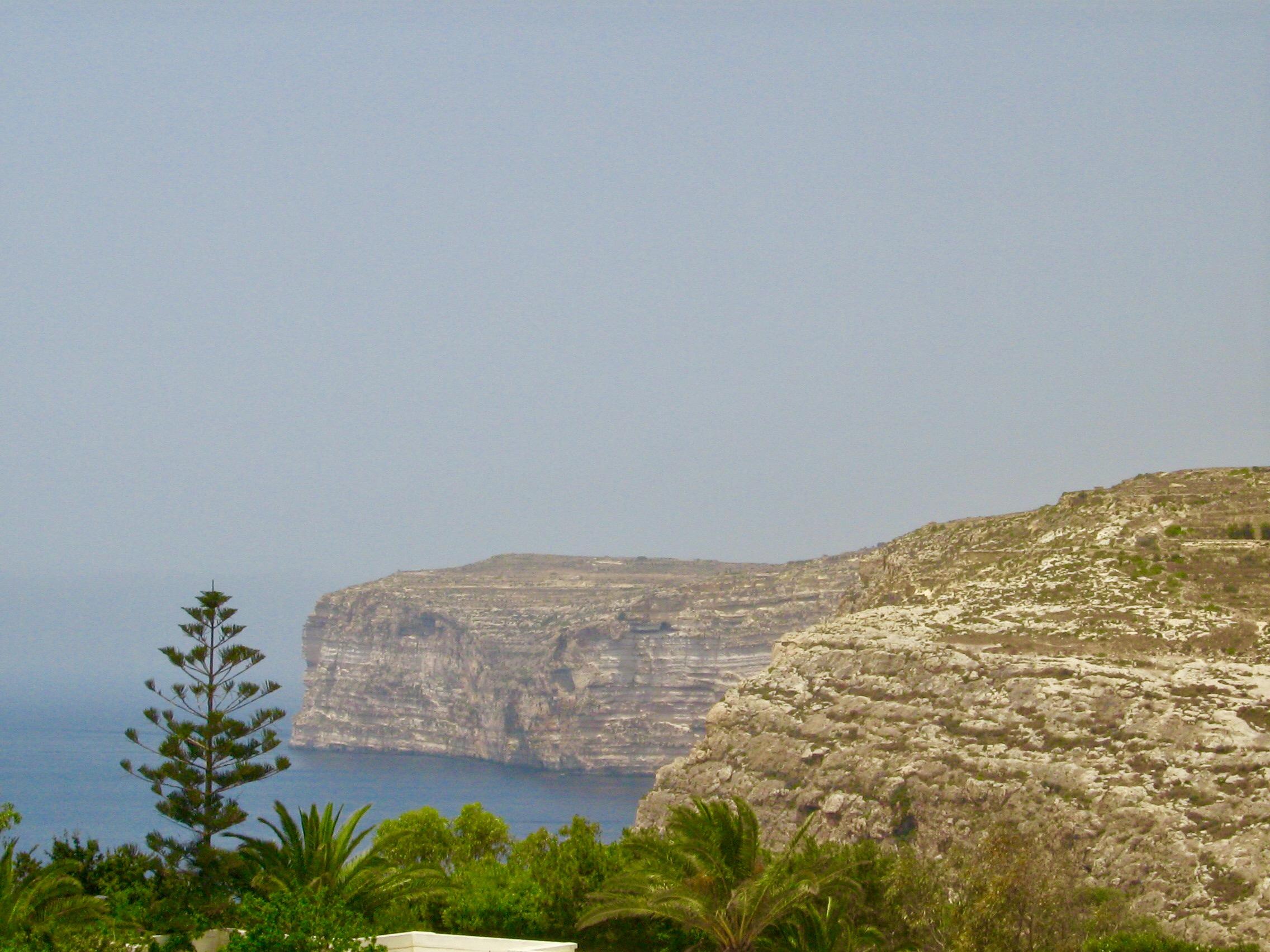 Malta Island Coastline