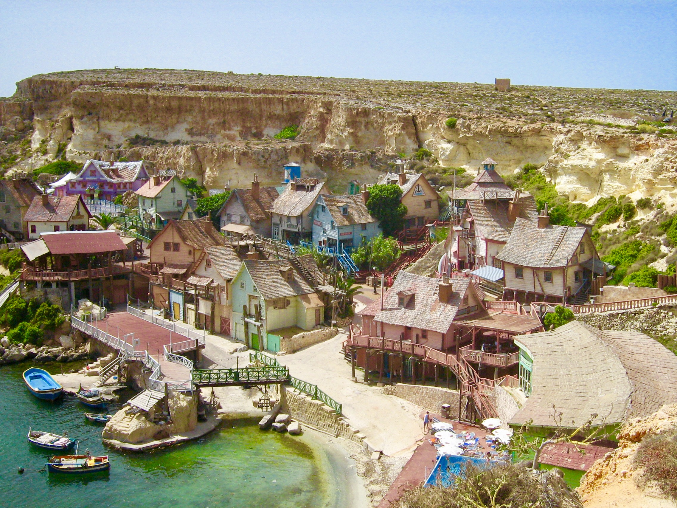 Malta Island Popeye Village
