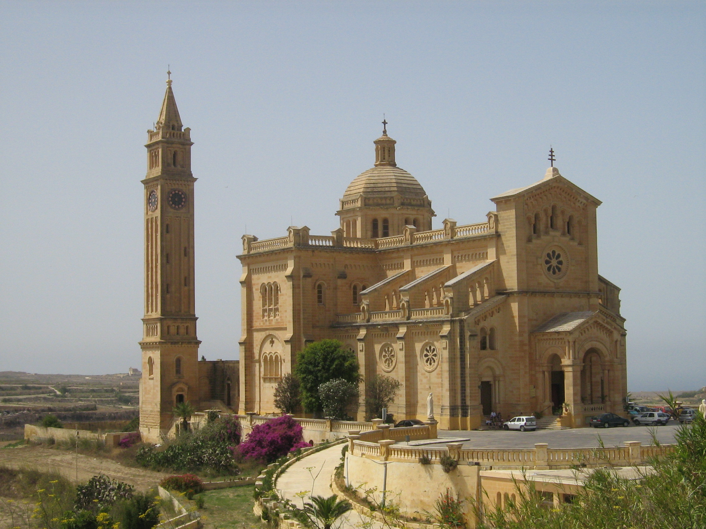 Malta Island Church