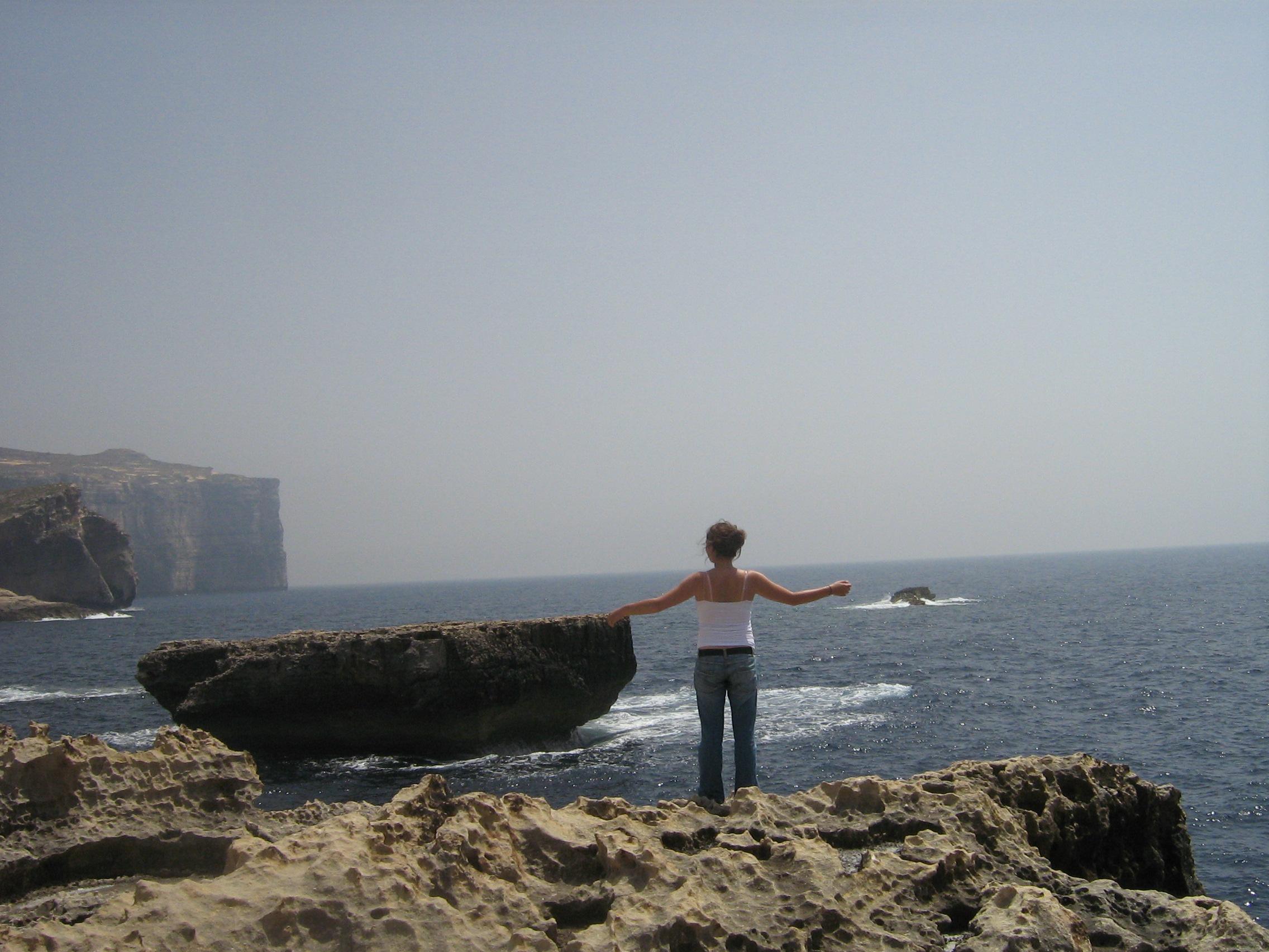 Coastline Malta Island