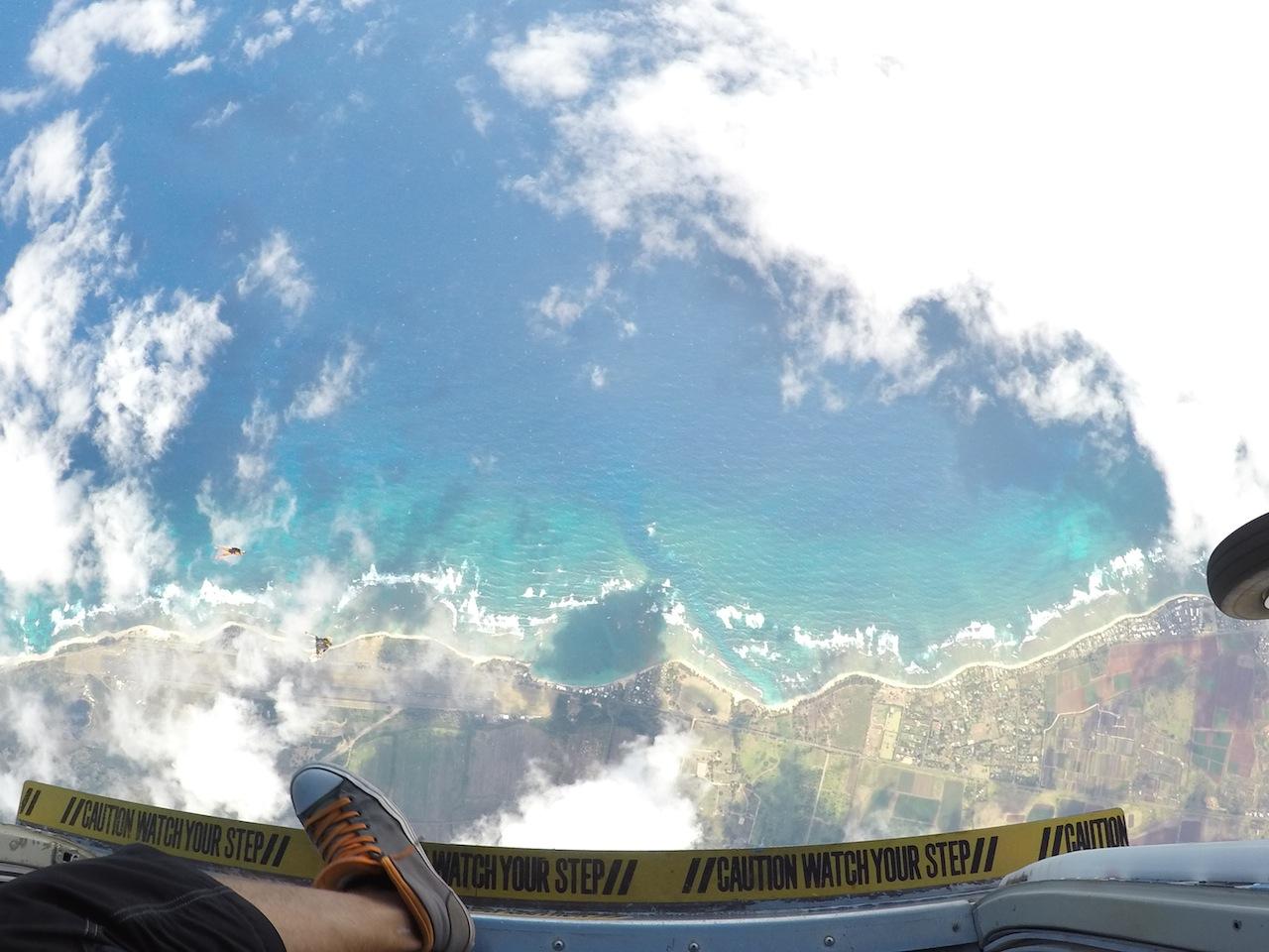 Extreme sports Skydiving Hawaï