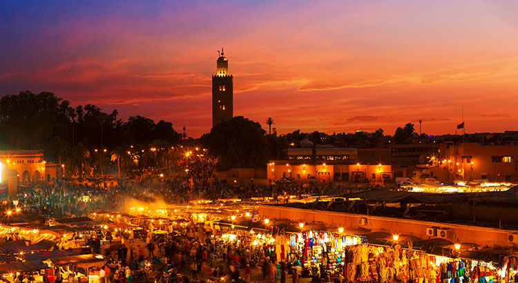 Marrakech Morocco Travel Destination