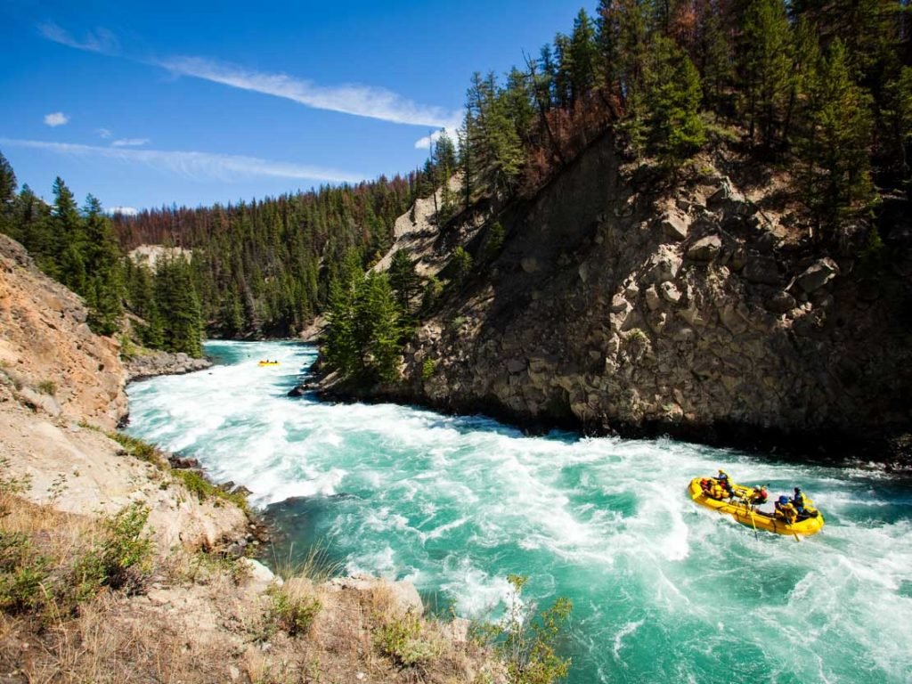 extreme sports whitewater rafting