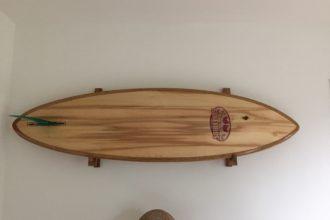 Bed&Breakfast Kahakai Texel surfboard