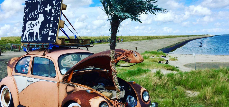 Texel Beach Food Festival car