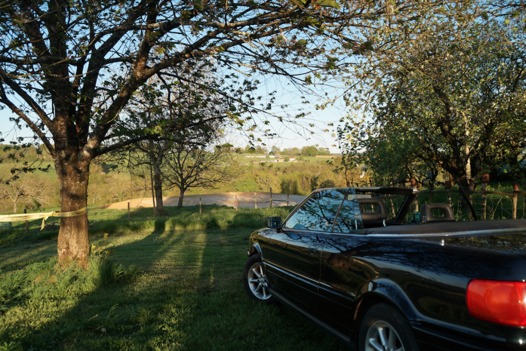 French Dordogne convertible