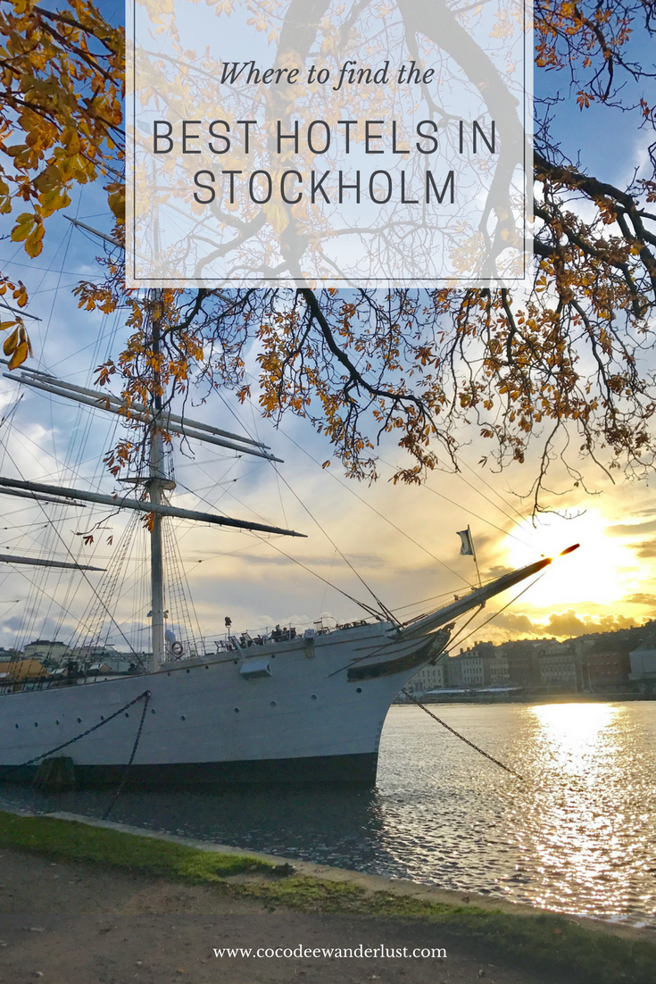 Best Hotels in Stockholm - Coco Dee Wanderlust