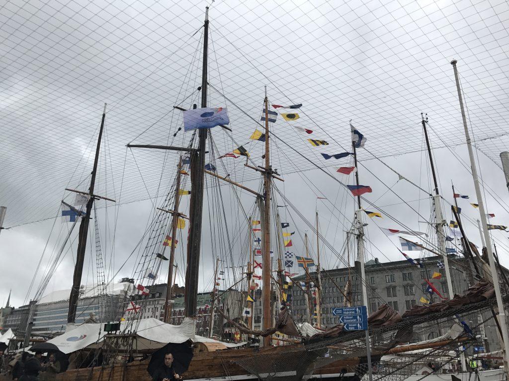 Helsinki Harbour Scandinavian