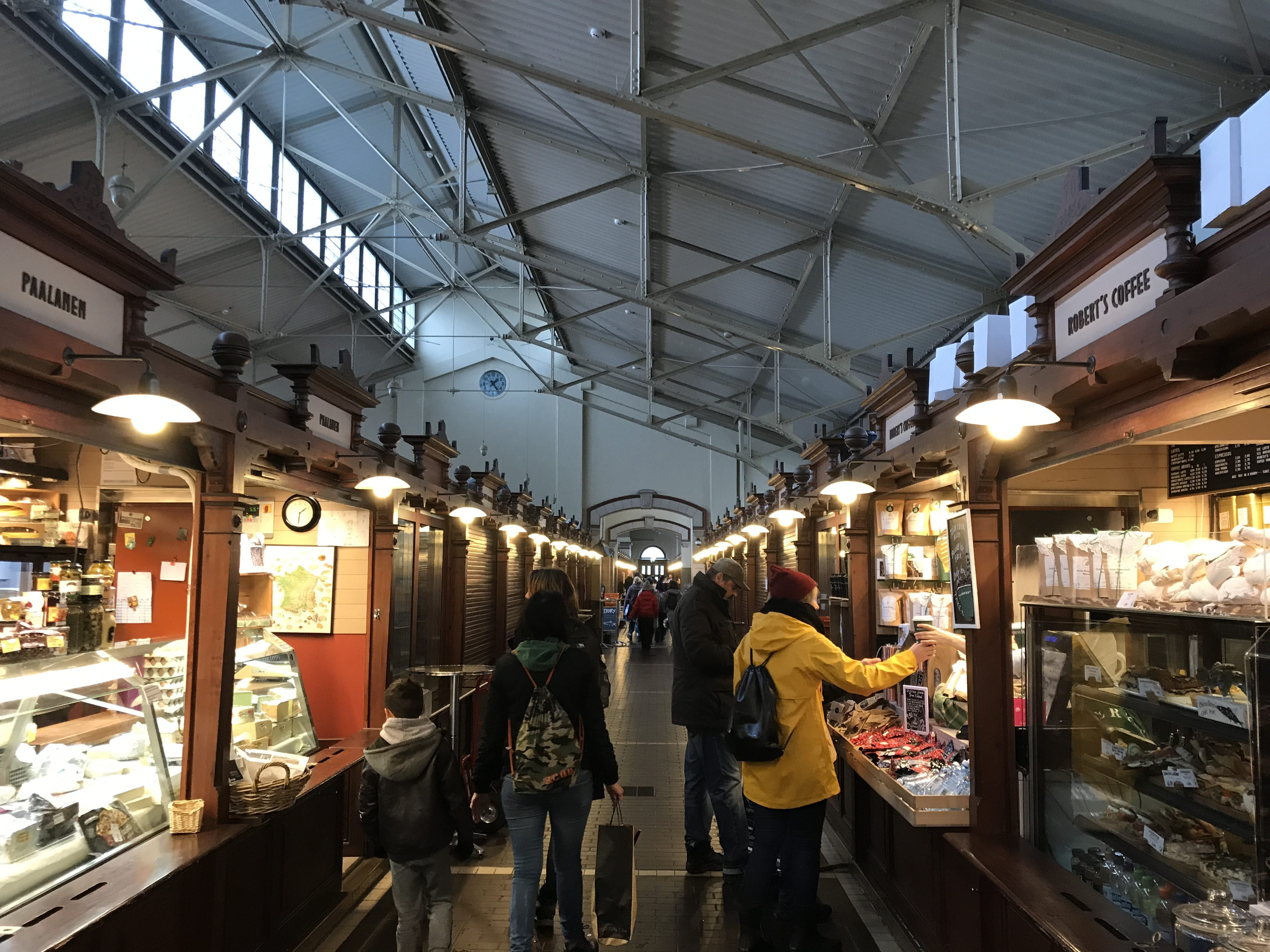 Helsinki without a guidebook Indoor Markets