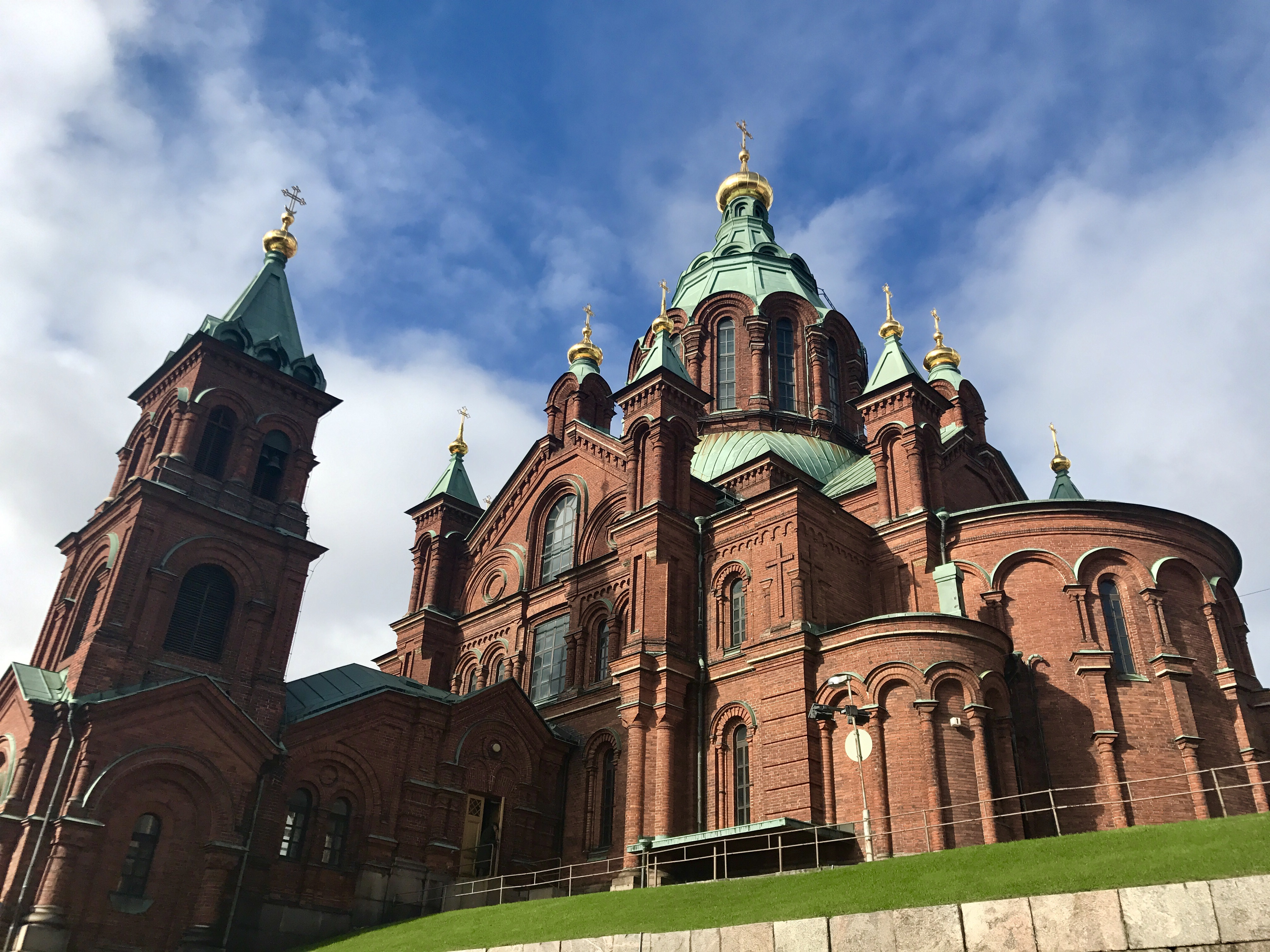 Helsinki Oespenski Cathedral