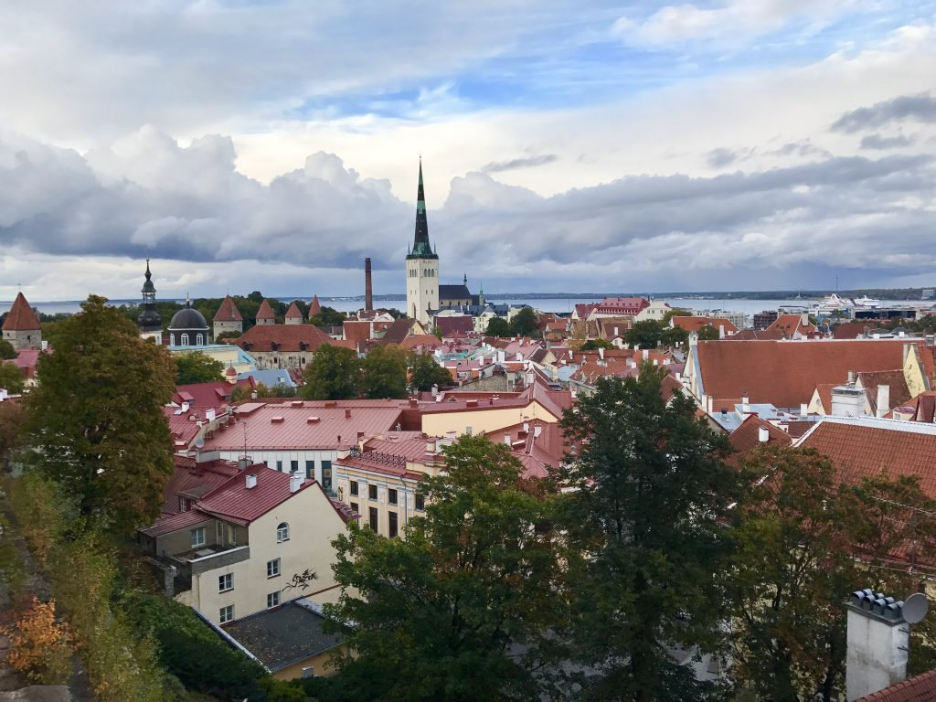 Tallinn View destinations in Europe