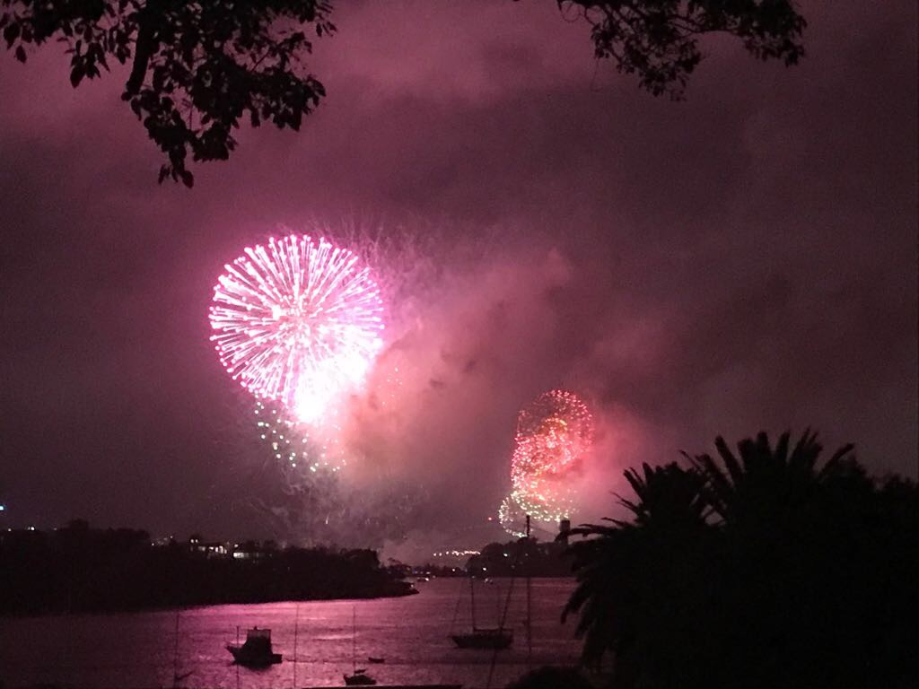 Celebrating New Years in Sydney