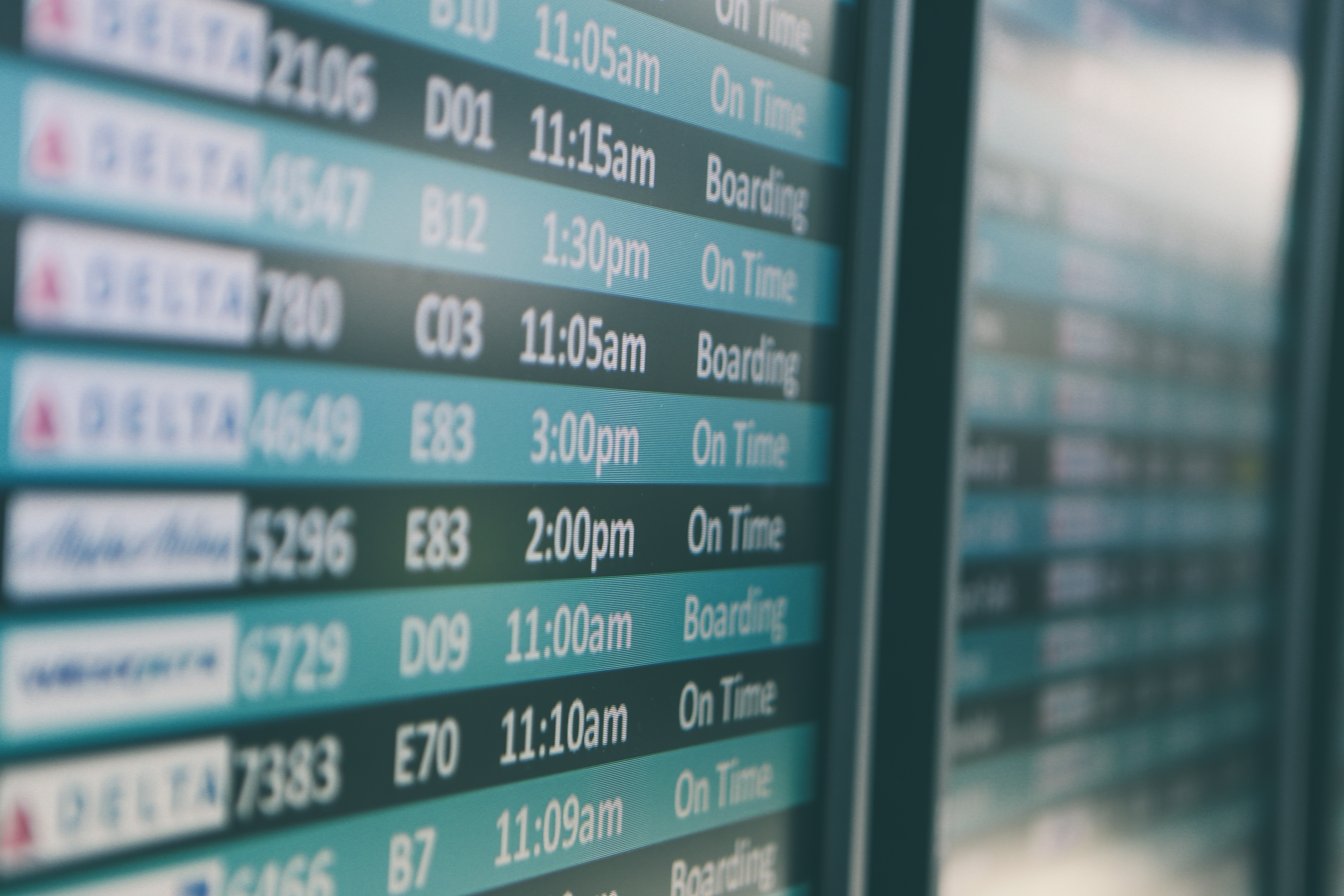 Your Flight Is Cancelled schedule