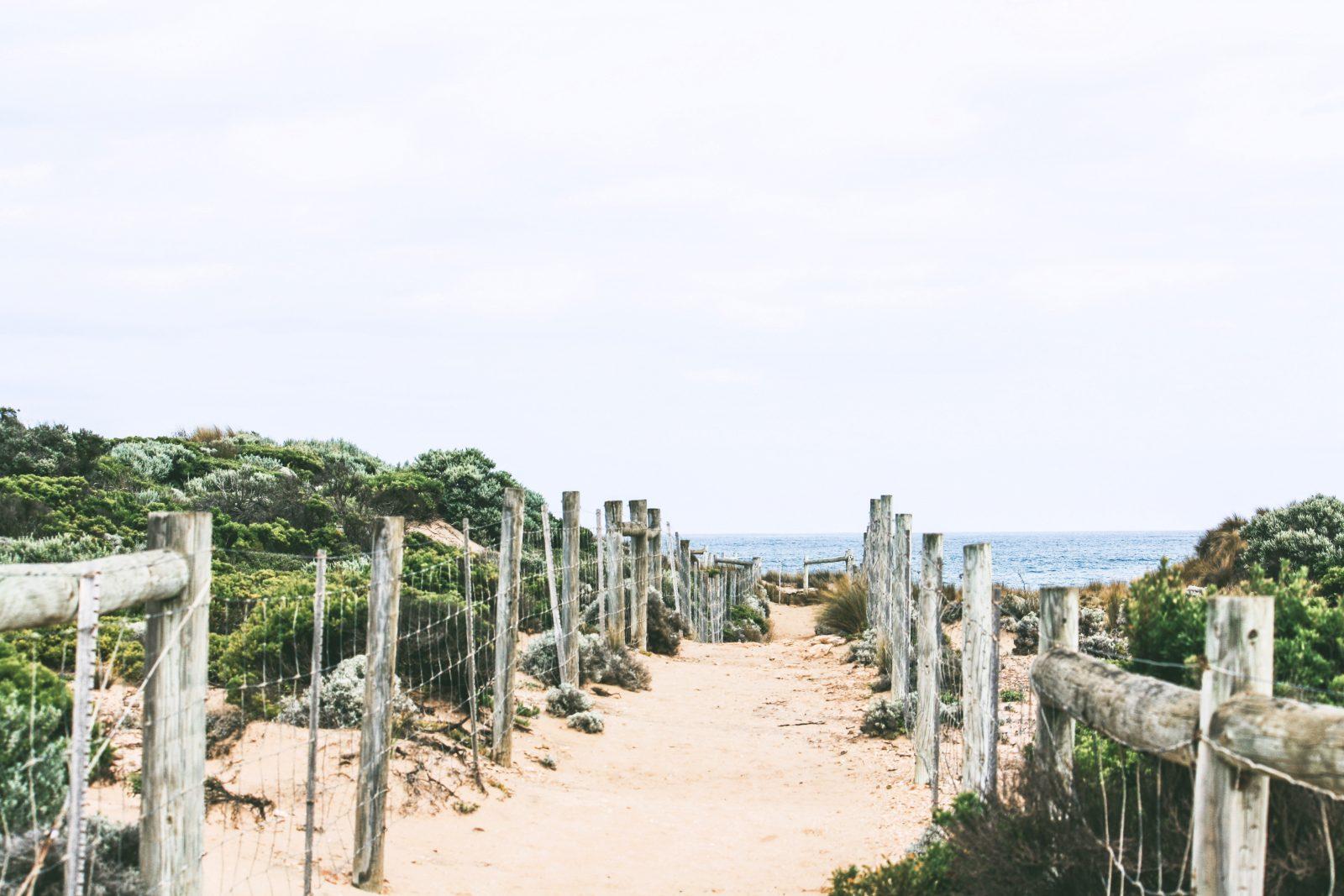 East Coast of Australia beach