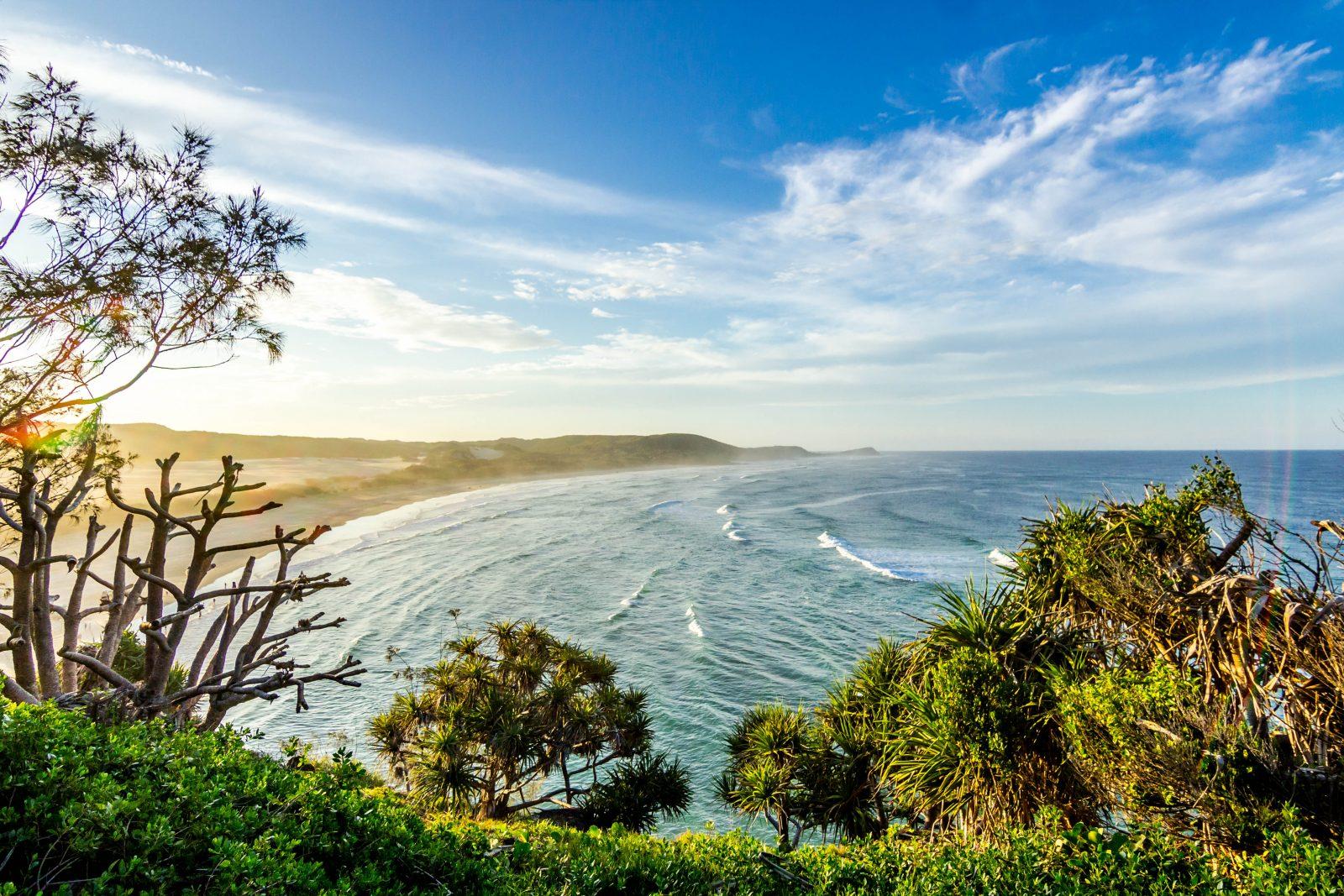 East Coast of Australia Byron