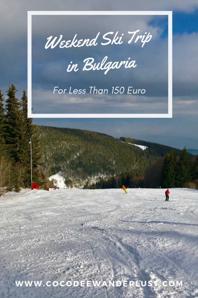 Weekend Ski Trip in Bulgaria Pinterest