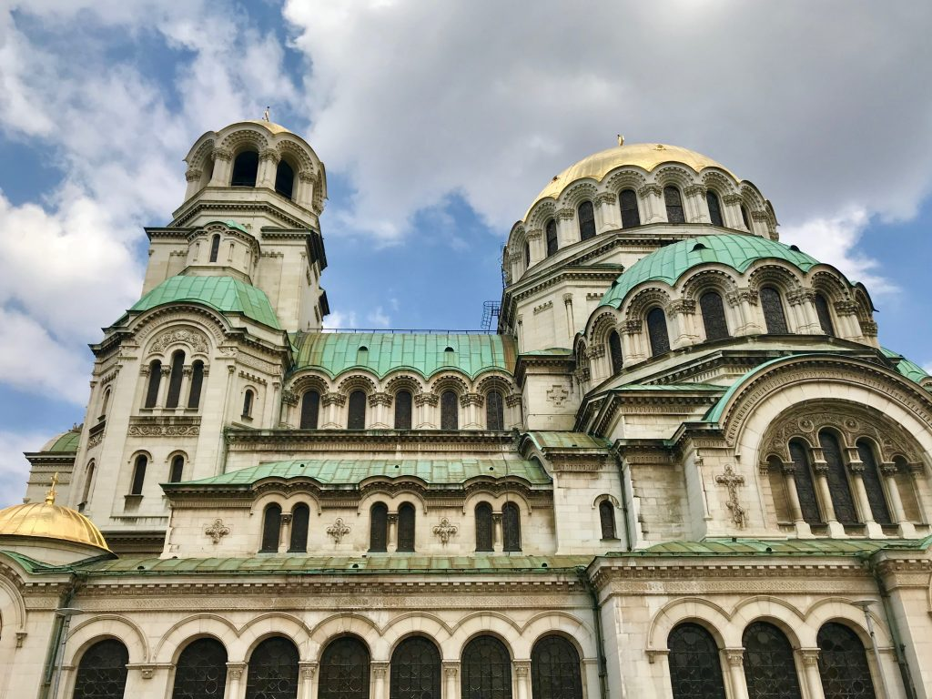 Weekend Ski Trip in Sofia cathedral