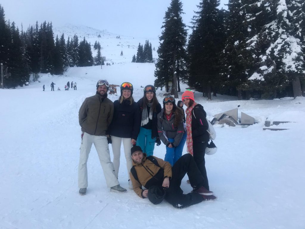 Weekend Ski Trip in Sofia tribe