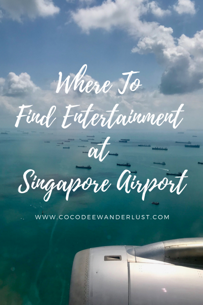 Where To Find Entertainment at Singapore Airport Pinterest