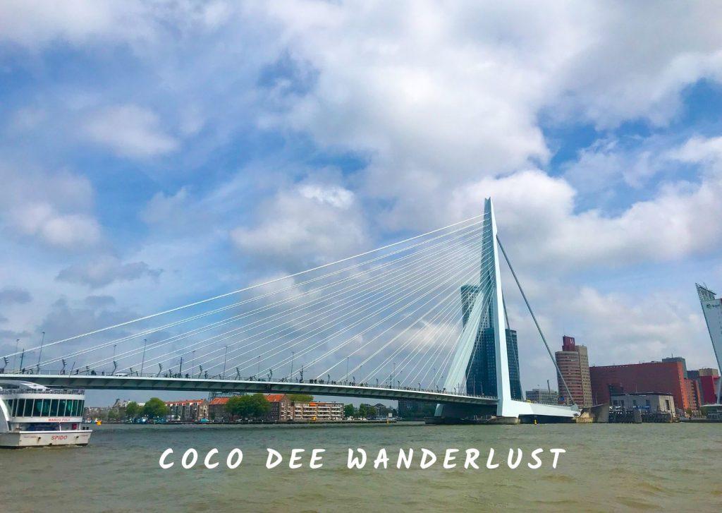 The Netherlands Erasmus Bridge