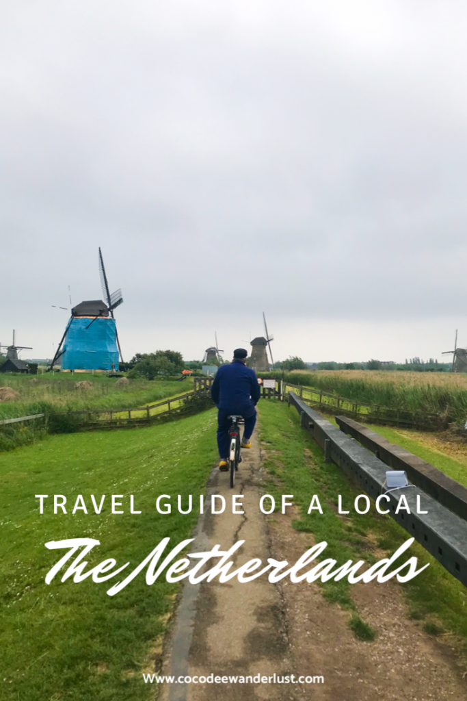 The Netherlands Travel guide of a local windmills