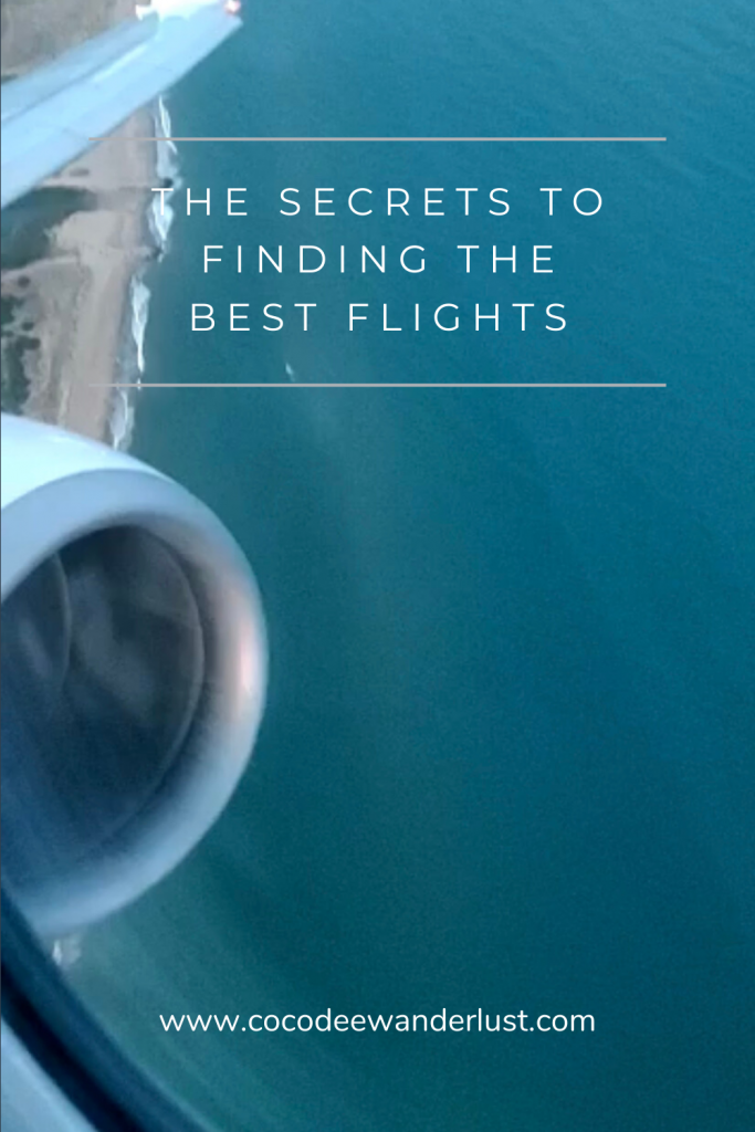 The secrets to finding the best flights