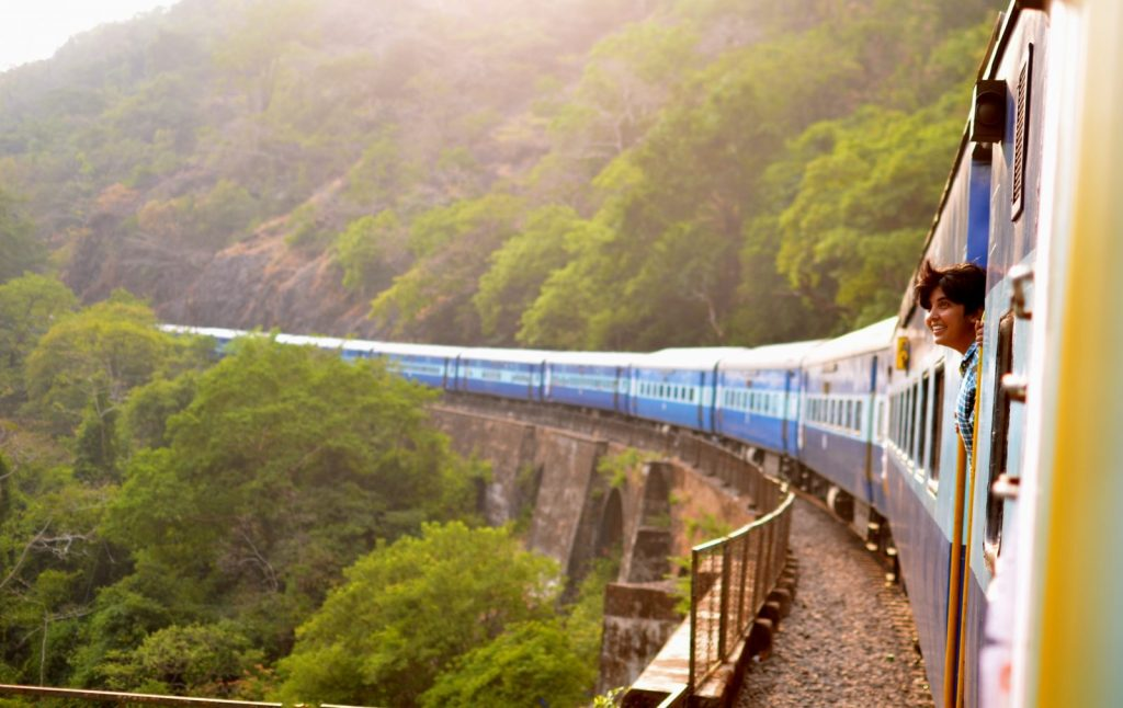 travel trends in 2020 train