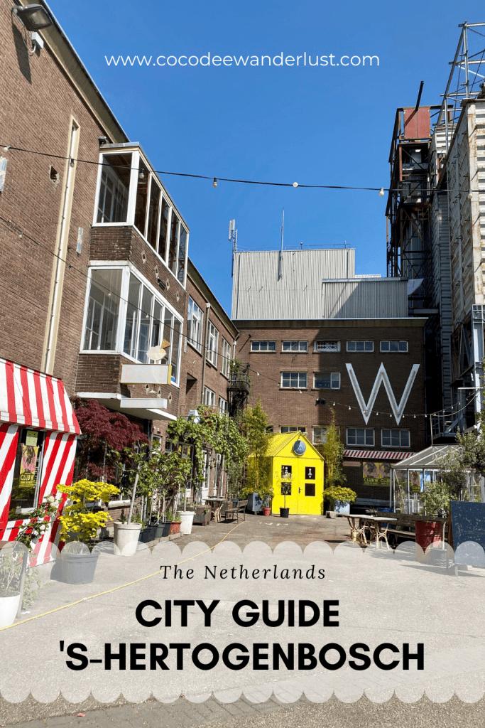 City Guide 's-Hertogenbosch, the Netherlands