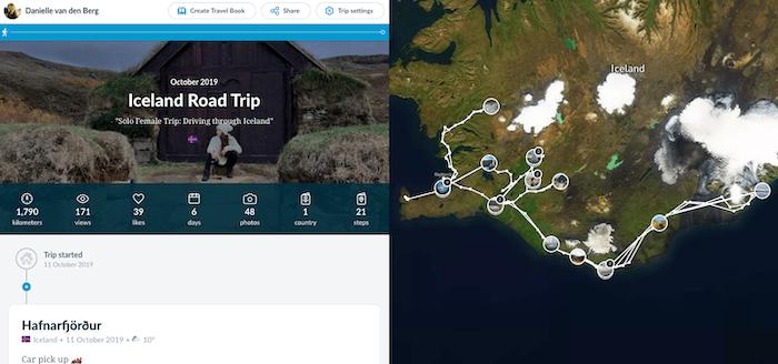 Polarsteps Iceland Useful travel apps