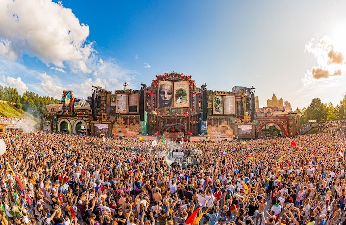 Tomorrowland - festivals in Europe