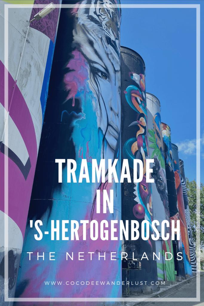 Tramkade in 's-Hertogenbosch, the Netherlands