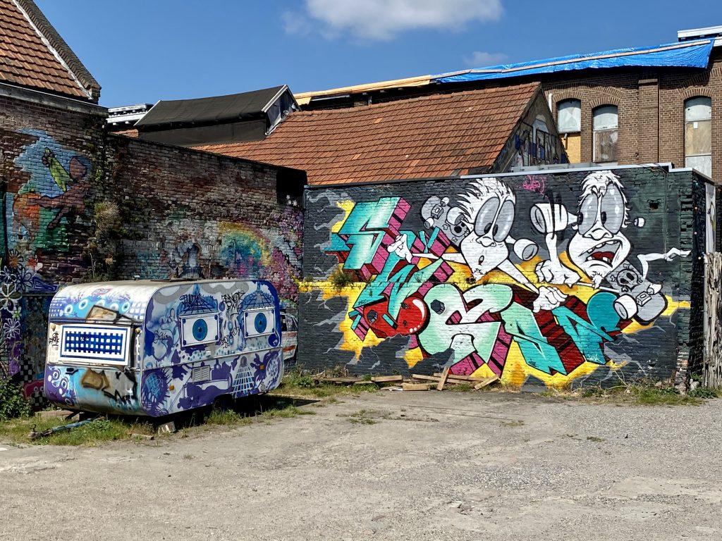Tramkade in 's-Hertogenbosch street art 2